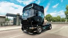 Haut, Türkis Rauch für Scania-LKW für Euro Truck Simulator 2