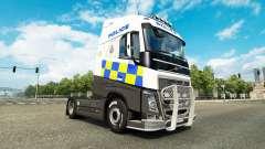 La Police de la peau pour Volvo camion pour Euro Truck Simulator 2