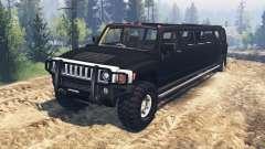 Hummer H3 [limousine] pour Spin Tires