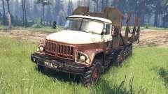 ZIL-131 8x8 für Spin Tires