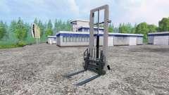 Montiert hydraulische Aufzug