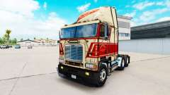 Haut auf Sherman Bros LKW Freightliner FLB für American Truck Simulator