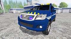Toyota Hilux [gendarmerie]