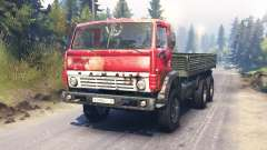 KamAZ-54102 pour Spin Tires