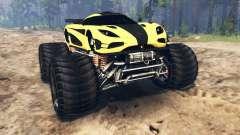 Koenigsegg One:1 Monster v2.0 für Spin Tires