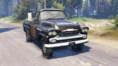 Chevrolet Apache 1959 v2.0 pour Spin Tires