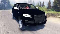 Audi Q7 pour Spin Tires