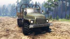 Ural-4320 pour Spin Tires