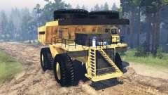 Camion minier Godzilla v2.0 pour Spin Tires