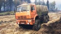 KamAZ-6522 v5.0 pour Spin Tires