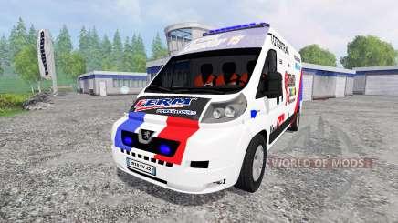 Peugeot Boxer [racing] für Farming Simulator 2015