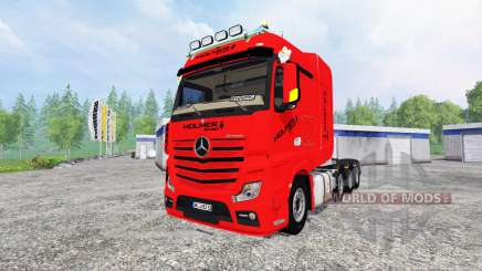 Mercedes-Benz Actros MP4 SLT für Farming Simulator 2015