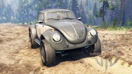 Volkswagen Beetle Custom pour Spin Tires