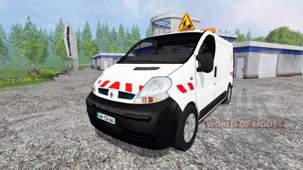 Renault Trafic ECV pour Farming Simulator 2015