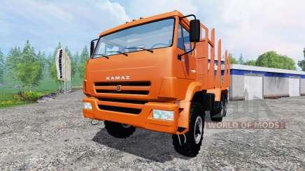 KamAZ-43118 [bois] pour Farming Simulator 2015