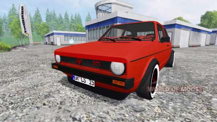 Volkswagen Golf I GTI 1976 für Farming Simulator 2015