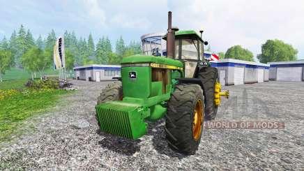 John Deere 4650 v2.1 für Farming Simulator 2015