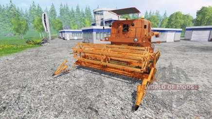 Bizon Z056 für Farming Simulator 2015