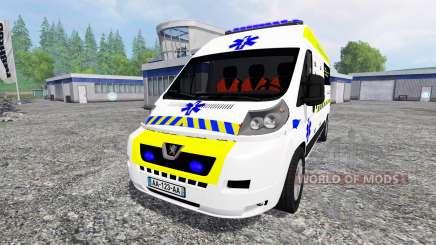 Peugeot Boxer Ambulance für Farming Simulator 2015