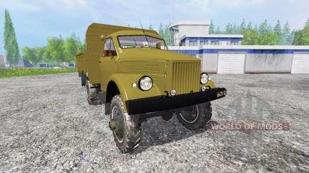Le GAZ-63 pour Farming Simulator 2015