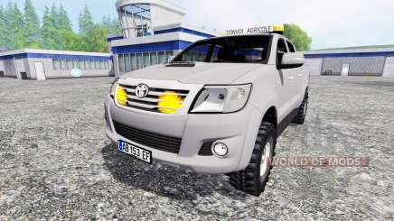 Toyota Hilux [convoi agricole] für Farming Simulator 2015
