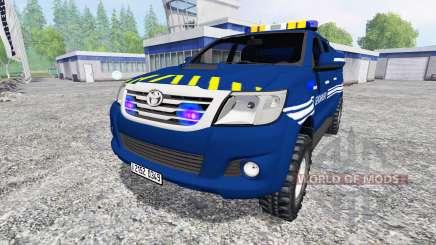 Toyota Hilux [gendarmerie] für Farming Simulator 2015