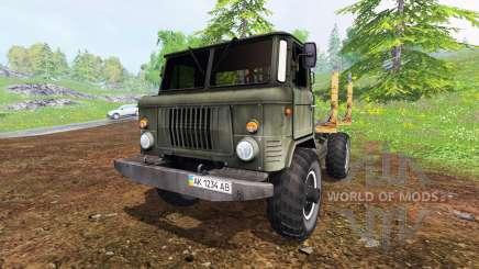 GAZ-66 [Holz] für Farming Simulator 2015