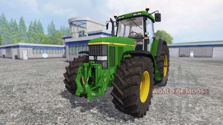 John Deere 7810 [washable] v2.0 pour Farming Simulator 2015