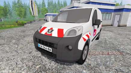 Peugeot Bipper [sncf] pour Farming Simulator 2015