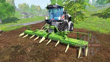 Krone Big X 580 [black] pour Farming Simulator 2015