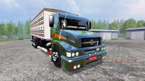Mercedes-Benz 1620 v2.0 pour Farming Simulator 2015
