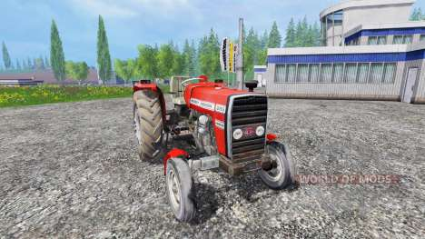Massey Ferguson 255 [without cabin] pour Farming Simulator 2015