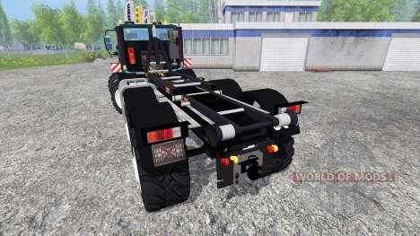 Mercedes-Benz Unimog U2450 8x8 HKL pour Farming Simulator 2015