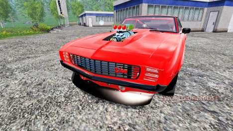 Chevrolet Camaro Z28 1969 pour Farming Simulator 2015
