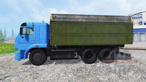 KamAZ-65117 [turbo] pour Farming Simulator 2015
