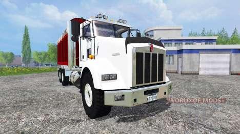 Kenworth T800 [dumper] v2.0 pour Farming Simulator 2015