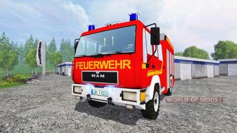 MAN M12.222 [feuerwehr] pour Farming Simulator 2015