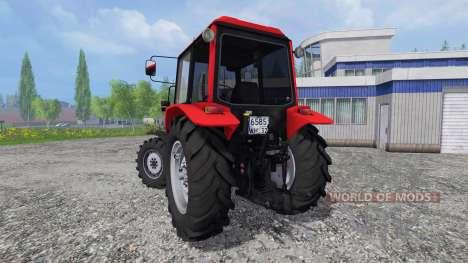 MTZ-Weißrußland 1025.4 für Farming Simulator 2015