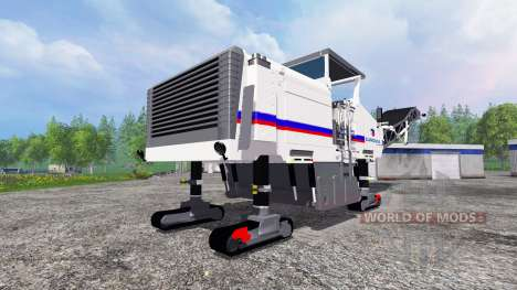 Crawler self-propelled road milling machine Wirt für Farming Simulator 2015