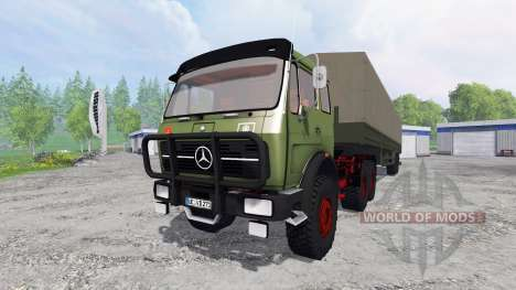 Mercedes-Benz NG 1632 6x6 pour Farming Simulator 2015