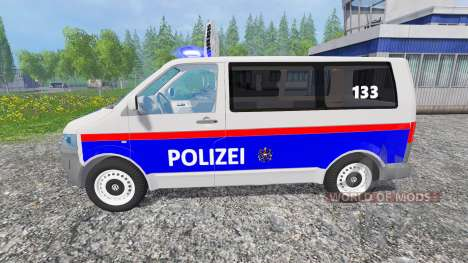 Volkswagen Transporter T5 Police für Farming Simulator 2015