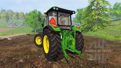 John Deere 5080M [washable] pour Farming Simulator 2015