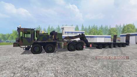 FAUN SLT 56 Franziska für Farming Simulator 2015