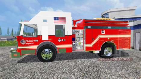 U.S Fire Truck v2.0 pour Farming Simulator 2015