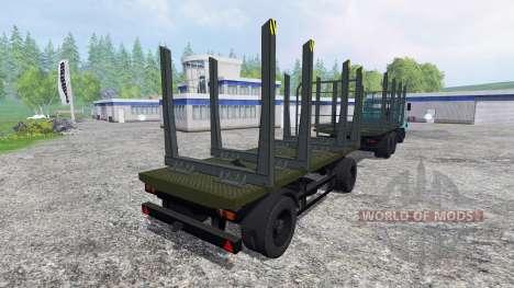 Kraz-6233M6 pour Farming Simulator 2015