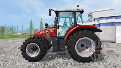 Massey Ferguson 5712 pour Farming Simulator 2015