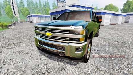 Chevrolet Silverado 2500 pour Farming Simulator 2015