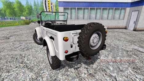 GAZ-69 pour Farming Simulator 2015