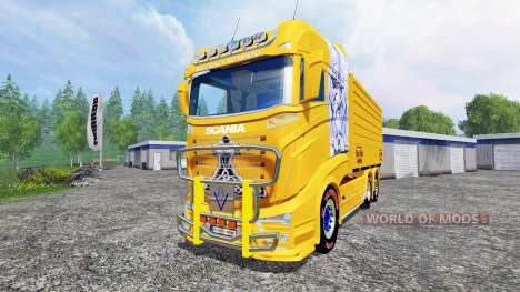 Scania R1000 [tipper] für Farming Simulator 2015