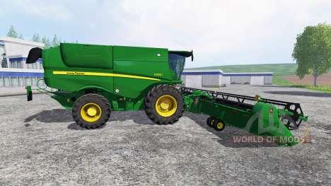John Deere S 690i für Farming Simulator 2015
